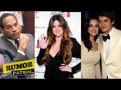 John Mayer CHEATED on Katy Perry?! Khloe Kardashian Sexed OJ Simpson? (Rumor Patrol)