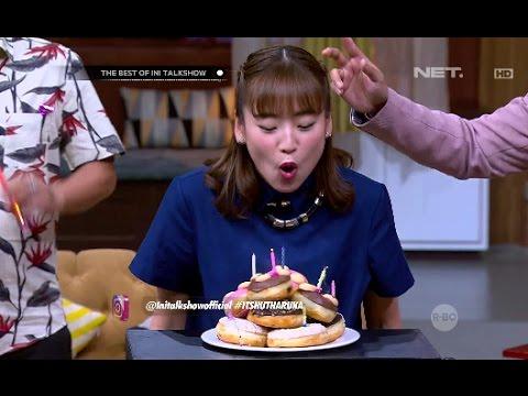 The Best Of Ini Talk Show - Yeay Haruka Dapet Surprise Ulang Tahun