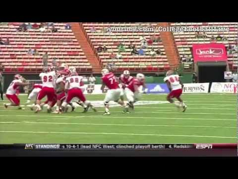 SMU QB Garrett Gilbert vs Fresno State 