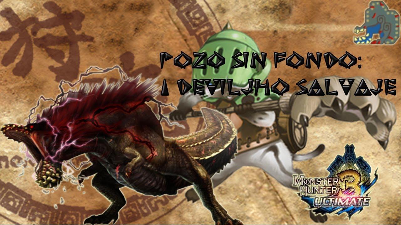 MH3U - Savage Deviljho - Bottomless Beast Gameplay / MH3U ...