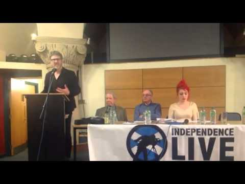 Scotland's Referendum 2014 - Motherwell, 31/3/2014 - Robin McAlpine