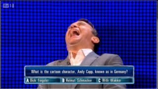 The Chase ITV1 Dick Tingeler Bradly Walsh Can't Stop