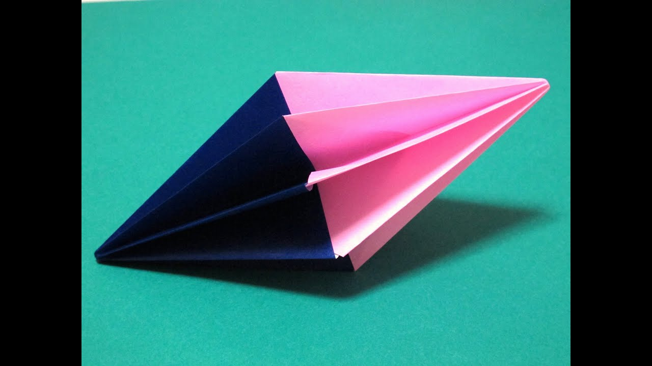 how to make origami diamond