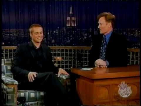 Brad Pitt @ Conan O'Brian