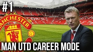 FIFA 14: Man Utd Career Mode - Episode #1 - BACK TO DOMINATION!