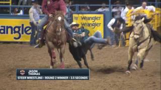 2016 Wrangler NFR Round 2 Highlights