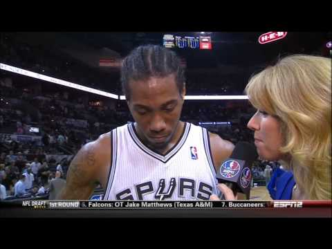 Kawhi Leonard Full Highlights Spurs vs Blazers Game 2 (5/8/2014) 20 Pts, 5 Reb - Project Spurs