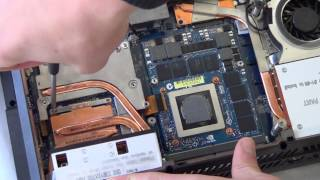 NVIDIA GeForce GTX 980M Install In EUROCOM Panther 5