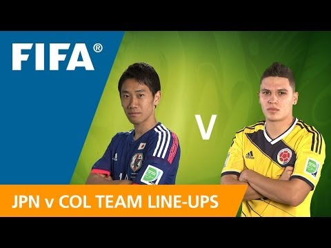 Japan v. Colombia - Teams Announcement