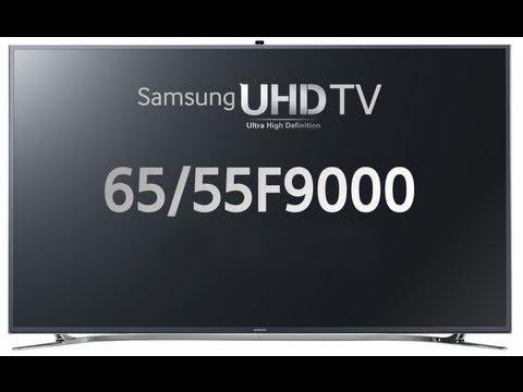 [IFA 2013] TV Samsung UltraHD Serie F9000 (55F9000 / 65F9000)
