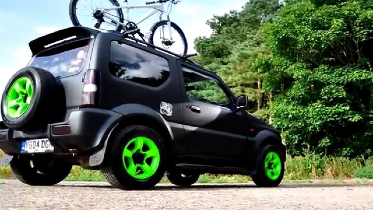 Black Holes Working Suzuki Jimny