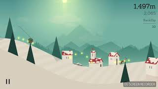 Alto's Adventure Double Triple and Quadruple backflips in one run!