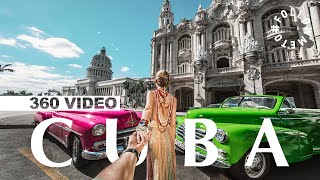 First 360 VIDEO! #FollowMeTo Cuba Behind The Scenes