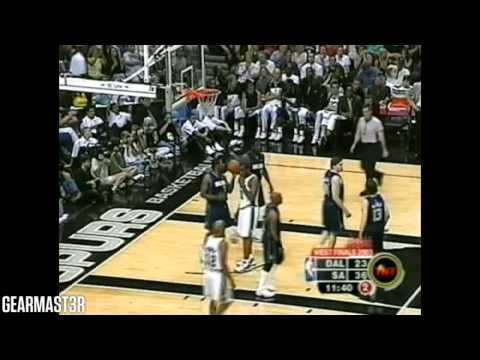 Tim Duncan - 40 pts, 15 reb, 7 asts vs Mavericks Full Highlights (2003 WCF GM1) (2003.05.09)