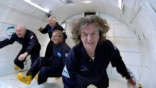 James May Goes Zero Gravity on The Vomit Comet