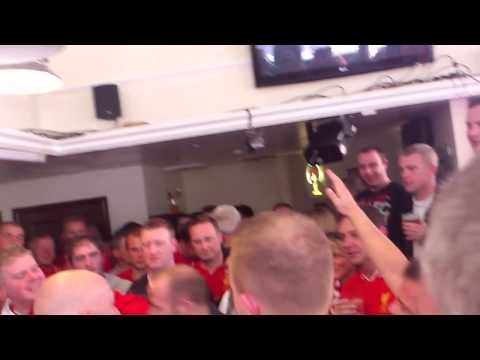 Brendan Rodgers song @ The Park before Southampton game