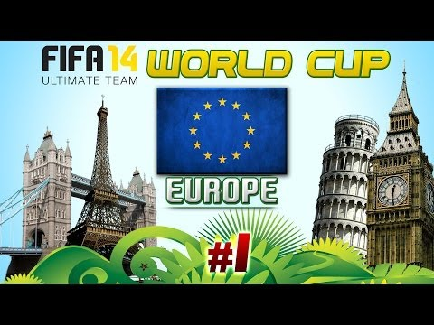 FUT14 WORLD CUP: Europe #1 (Cristiano Ronaldo!)