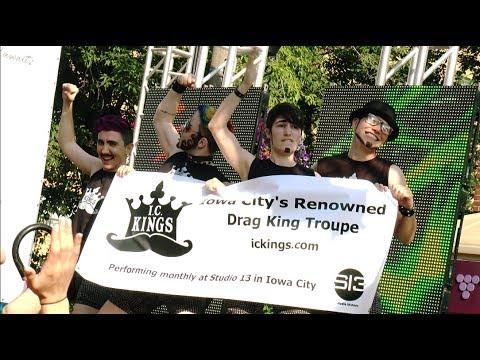 DRAG KING TROUPE I.C. Kings Groupe Performance at WORLD PRIDE 2014 Toronto