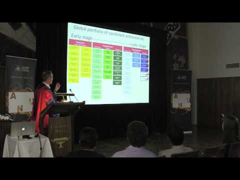 Malaria, money and drugs - The 2013 ANU Last Lecture