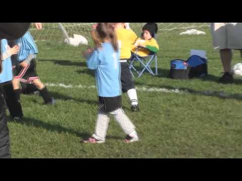 Amazing 4 year old soccer star's goal scoring high