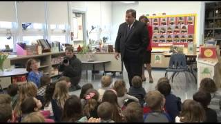 Governor Christie Takes Questions from Kids