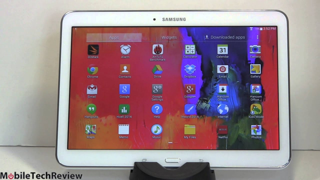 Samsung Galaxy Tab 4 10 1 Review Youtube
