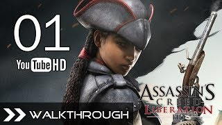 Assassin's Creed Liberation HD Walkthrough AC3 Gameplay