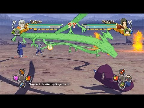 Naruto Ultimate Ninja Storm 3 Full Burst MODS - Naruto Ultimate Ninja Storm 3 Full Burst Shenron Mangekyo Sage Kabuto Mod Gameplay (PC w SweetFX)