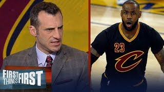 Doug Gottlieb reveals why he's putting Larry Bird and Jordan over LeBron James   FIRST THINGS FIRST