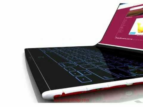 Future Design Laptop - Rolltop 2.0 (New Version)