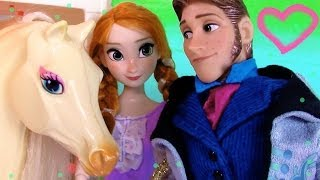 Disney Frozen Series Prince Hans Princess Anna Horse