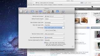 Mac Tutorial How To Change Safari Home Page