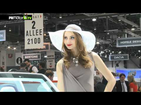 Ginebra 2012 - Especial Girls - Car News TV - PRMotor TV Channel