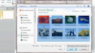 How To Make A Photo Slideshow In Powerpoint 2010