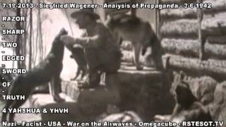 Analysis of Propaganda   3 6 1942   Siegfried Wagener