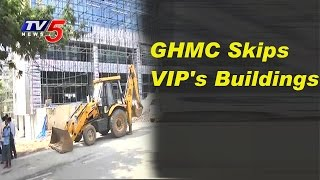 GHMC Demolishes 492 Illegal Constructions in 3 Days, Leave..