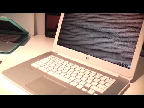 HP Chromebook 14 mit Intel Haswell CPU und Google Chrome OS im Hands on456