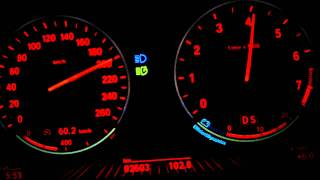 BMW 535i F10 Full Acceleration From 0 To 220 Km/h On The