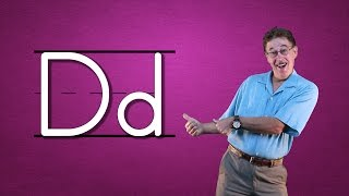 Learn The Letter D Starting From The Top | Alphabet Song | Phonics Song for Kids | Jack Hartmann