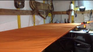 "Enclosed Trailer Conversion Camper Project "" Bunk Bed"