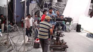 Courier-Boy-Kalyan-Movie-Bangaramma-Song-Making