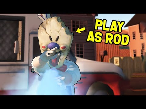 PLAY AS ROD FROM ICE SCREAM! (Funny Horror Game Gameplay)