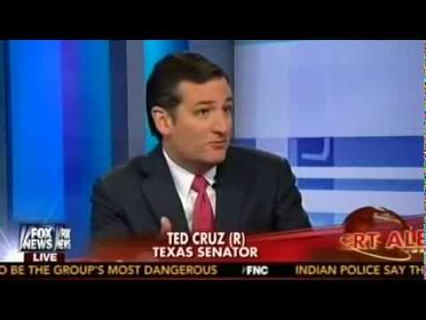 Sen. Ted Cruz with Greta Van Susteren