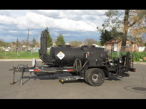 2004  Atlantic Welding Works 400 Gallon Distributor Trailer for Sale