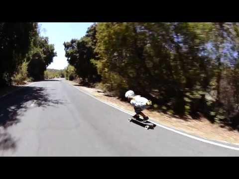 Cooks Corner Downhill Skateboarding