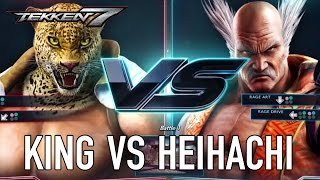 TEKKEN 7 - King VS Heihachi Gameplay