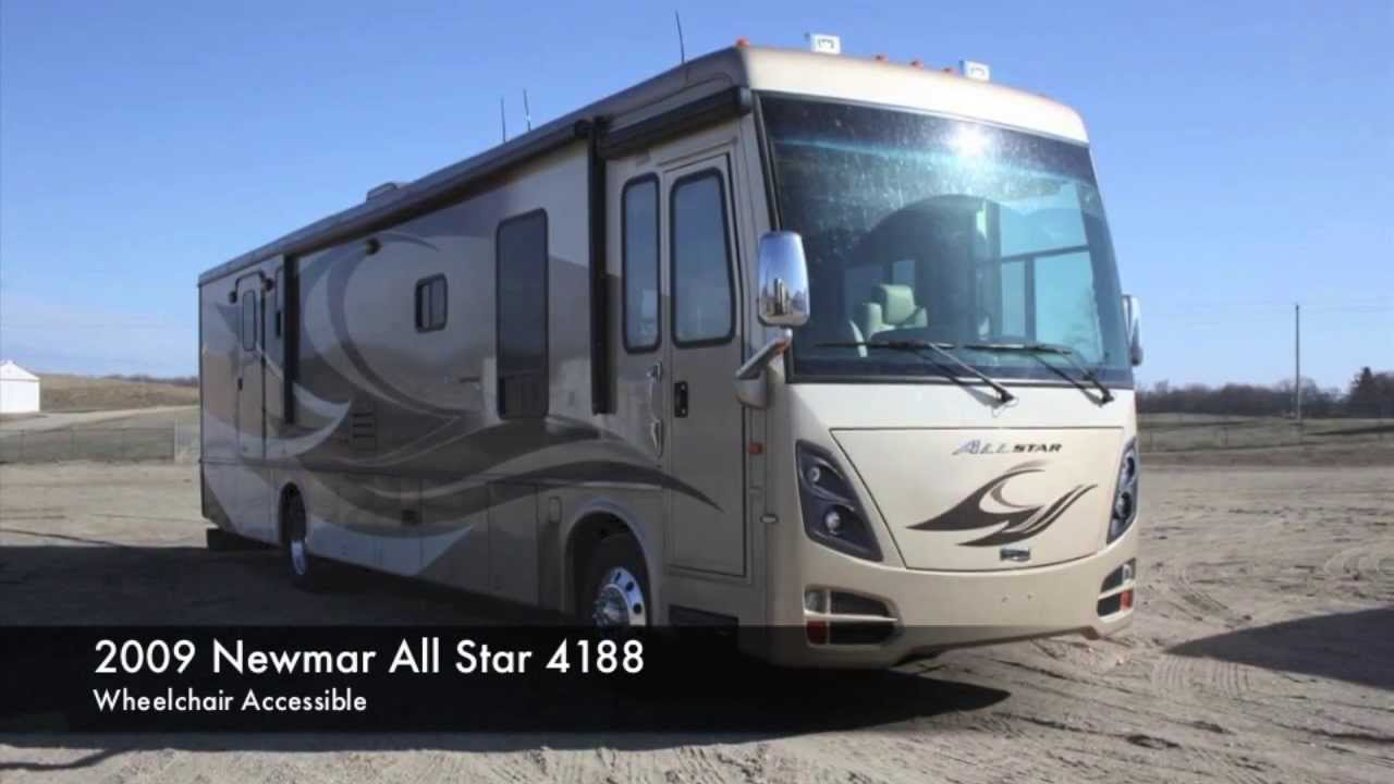 Used 2009 Newmar All Star Diesel Wheelchair Accessible ...
