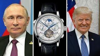 Watches Of World Leaders & Prominent Figures | (Trump, Putin, Pope Francis, Dalai Lama & More)