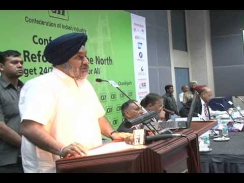 PUNJAB TO BE POWER SURPLUS BY 2013-SUKHBIR SIGH BADAL