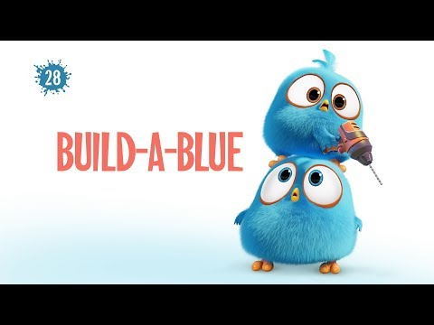 Angry Birds Blues - 28 - Postav si modrého